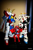 the clash of the gundams by jhedwin