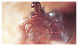 Super Man Sign by SuppyArts
