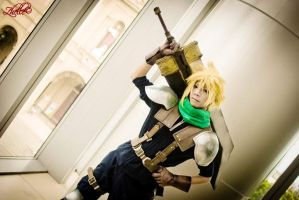 Cloud Strife 1 by JohnAmuroRey