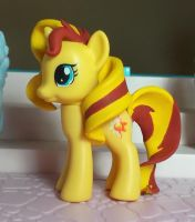 My Little Pony custom Sunset Shimmer by SanadaOokmai