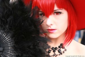 Black,White...and red madame by Lux96