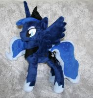 Princess Luna Plushie by Yukamina-Plushies
