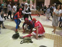 A-Kon '14 - Marvel 8 by TexConChaser