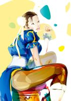 chun li by bboypion