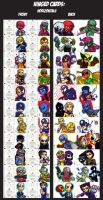 Marvel Premier Cards- Hinged Cards by lordmesa