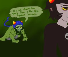 What makes Nepeta happy? by midnazora