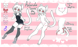 Rolanda the Cat :. REF :. by s-ailor