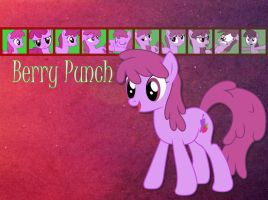 Berry Punch Wallpaper by phasingirl