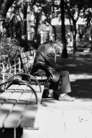 Waiting in the Park by christopherkc