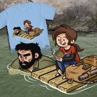 Last of Us Shirt by SaltyMoose