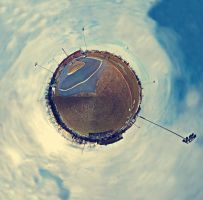 Tiny Planet by haulianthang