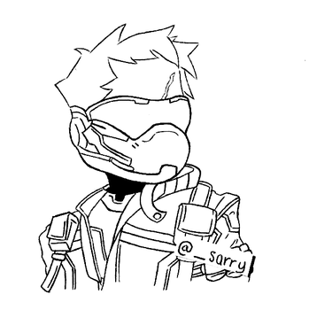 Soldier: 76 by Taiyaki-png