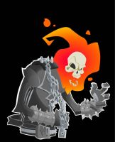 GHOST RIDER by happymonkeyshoes