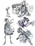 scorpion gulch doodles by chief-orc
