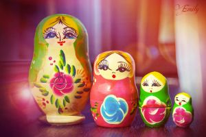 Dreamy matryoshka by Emmpunct