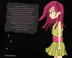 Pinkamena's thoughts by imclairedoyle