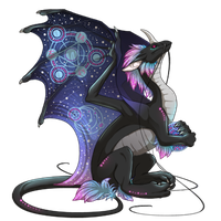 Pearlcatcher_skin_Runen-reader_black by Death-Reaper-Mao
