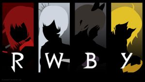 RWBY - Mystic Artes Wallpaper (Simple) by IceNinjaX77