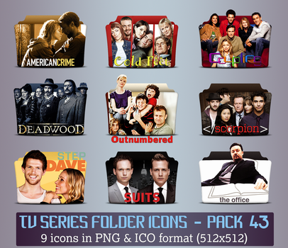 TV Series - Icon Pack 43 by apollojr