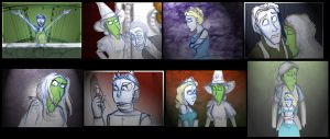 Wicked Storyboarded: Act Two by Expression