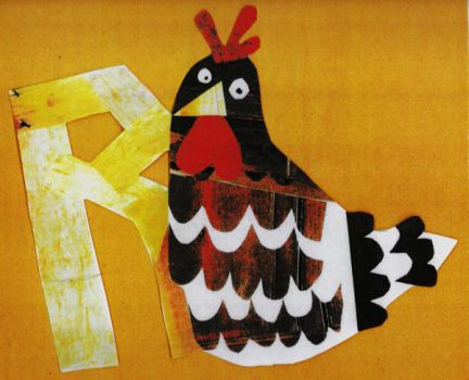 R is for Rooster by Hardy-Herring