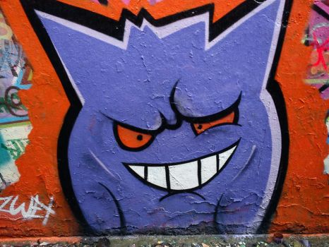 Gengar What by SUREGRAFFITI