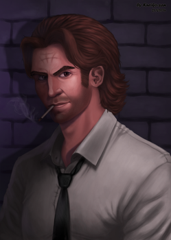 Bigby (The Wolf Among Us) by Kuriko-san
