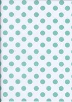Aqua Polka Dots by BelovedStock
