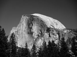 Yosemite - Half Dome by durkad