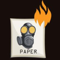 Paper is on fire by Nith47