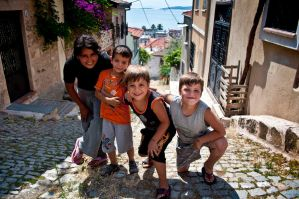Kids in the street I by chimneysweeper