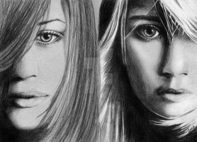 Mary-Kate and Ashley Olsen by f-anne-tastic