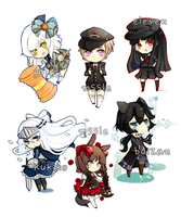 TM Chibi Batch - 522012 by SweetieMoon