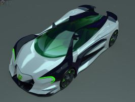 Honda Concept 3 by faith120