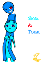 Shota and Toma : Brother by PapiGa2012