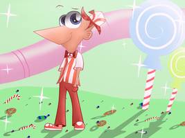 Phineas - The Sweet Shop Style by Isabella-kisabella