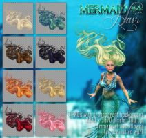 Mermaid #4 HAIR STOCK by Trisste-stocks