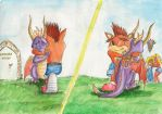 Crash and Spyro: A New Journey Begins by SoulEaterSaku90