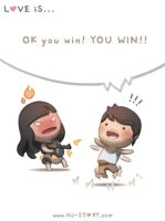 32. You WIN... YOU WIN! by hjstory