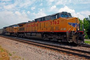 5762 Union Pacific 4 engines by clippercarrillo