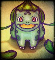 bulbasaur! by TalaStrogg