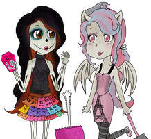 Monster High - Scaris by Friwil