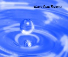 Water Drop Brushes by KaiPrincess