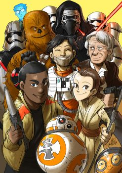 The Force Awakens by Jeetdoh