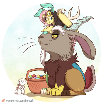 Happy Easter - 2017 by InuHoshi-to-DarkPen