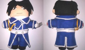 the return of the roy plushie by VioletLunchell