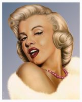 Marilyn by wendelin