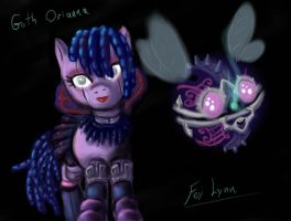 Goth Orianna Pony by Regari