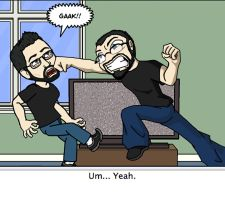 Bitstrips Beatdown by GnarledContradiction