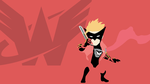 W101 Minimalisctic Wonder-Red Wallpaper by Degama